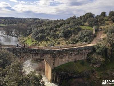 Puente de la Marmota - Parque Regional de la Cuenca Alta del Manzanares mochilas para mujeres rutas